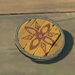 BotW Hyrule Compendium Wooden Shield.png