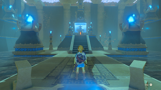 BotW Blessing Shrine Interior 7.png