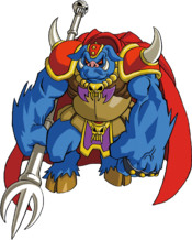 Ganon, resurrected as a mindless beast