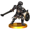 SSB3DS Darknut Trophy Model.png