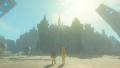 BotW Link Princess Zelda Viewing Hyrule Castle.png