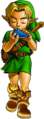 OoT Link Ocarina of Time Artwork.png