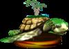 SSBM Turtle Trophy Model.png