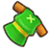 The sprite for the Green Tunic