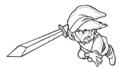 TLoZ Link Dashing Forward Concept Artwork.png
