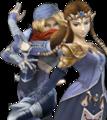 SSBB Zelda Sheik Alternative Costume 2.png