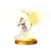 SSBfWU Light Arrow (Zelda) Trophy Model.png