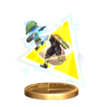 SSBB Triforce Slash (Toon Link) Trophy Model.png