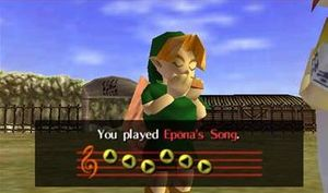 Epona's Song - Zelda Wiki