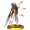 SSB3DS Ghirahim Trophy Model.png