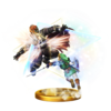 SSBfWU Triforce Slash (Link) Trophy Model.png