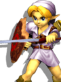 SSBM Young Link Alternative Costume 3.png