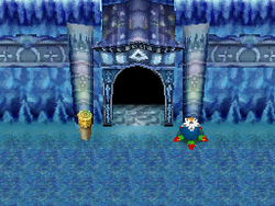 The Temple of Ice, as seen in Phantom Hourglass