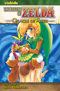 The cover of the Oracle of Ages manga
