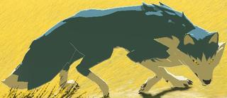 BotW Maraudo Wolf Model.png