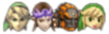 This sticker is usable by Link, Zelda, Ganondorf, and Toon Link