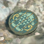BotW Hyrule Compendium Fisherman's Shield.png